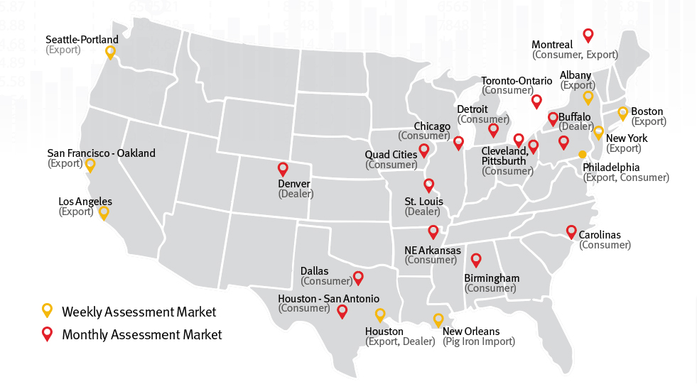 Argus scrap North American coverage for submarket